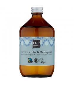 Gel de massage & lubrifiant BIO thé vert - 500ml - Fair Squared