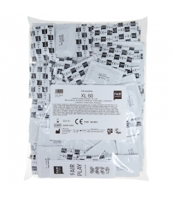 Préservatifs XL 60 naturels - 100 pièces - Fair Squared
