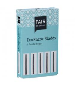 Lames de rechange pour le rasoir éco - 5 pièces - Fair Squared