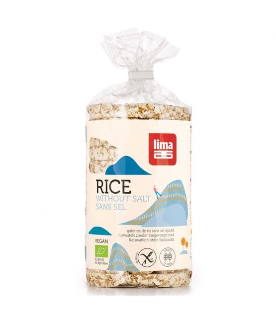BIO-Reiswaffeln besonders salzarm - 100g - Lima