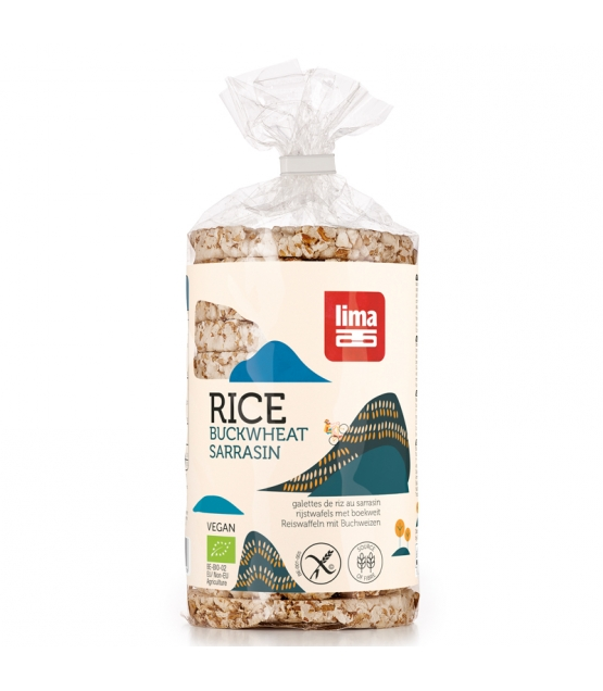 Galettes de riz au sarrasin BIO - 100g - Lima