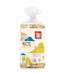 Galettes de riz au millet BIO - 100g - Lima