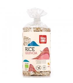 Galettes de riz au quinoa BIO - 100g - Lima