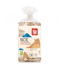 Galettes de riz multicéréales BIO - 100g - Lima