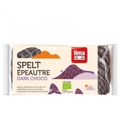 BIO-Dinkelwaffeln mit Zartbitterschokolade - 90g - Lima