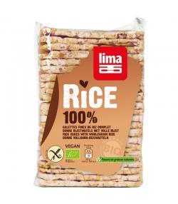 Galettes de riz complet BIO - 130g - Lima