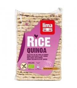 BIO-Reiswaffeln Quinoa rechteckig - 130g - Lima