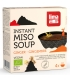 Soupe traditionnelle japonnaise au miso & gingembre BIO - Instant Miso Soup - 4x15g - Lima