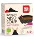 Soupe traditionnelle japonnaise au miso blanc BIO - Instant Miso Soup - 4x16,5g - Lima