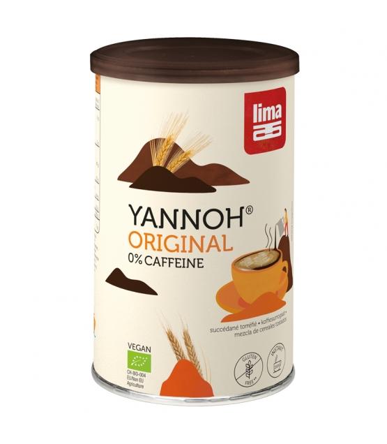 Boisson chaude à base de céréales torréfiées BIO - Yannoh Instant - 250g - Lima