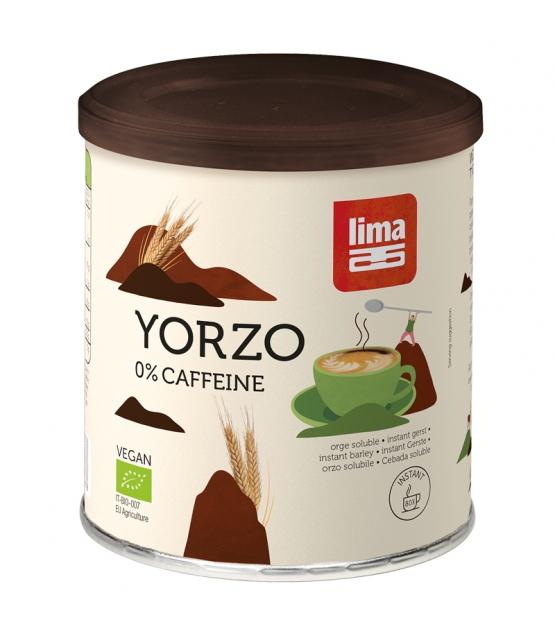 Boisson chaude à base d'orge torréfié BIO - Yorzo - 125g - Lima