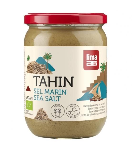 Crème de sésame au sel marin BIO - Tahin - 500g - Lima