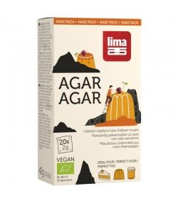 Agar-Agar en poudre BIO - 20x2g - Lima