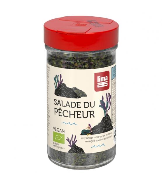 Mélange de 4 algues BIO - Salade du Pêcheur - 40g - Lima