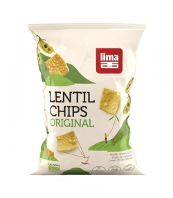 BIO-Lentil Chips Original - 90g - Lima