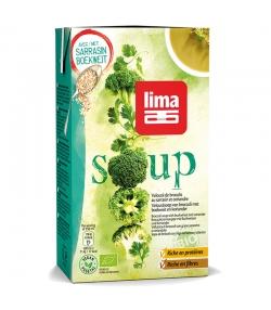 Velouté de broccolis au sarrasin & coriandre BIO - 1l - Lima