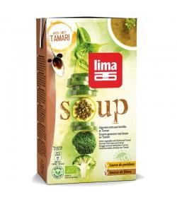 Soupe de légumes verts aux lentilles & Tamari BIO - Soup - 1l - Lima