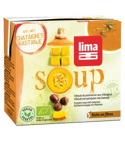 Velouté de potimarron aux châtaignes BIO - Soup - 500ml - Lima