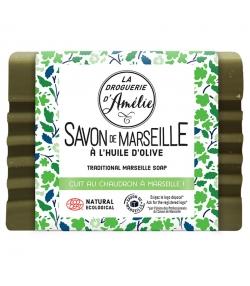 Grüne Marseiller Seife mit Olivenöl - 250g - La droguerie d'Amélie