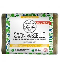 Geschirrspülseife mit ökologischer Marseiller Seife - 200g - La droguerie d'Amélie