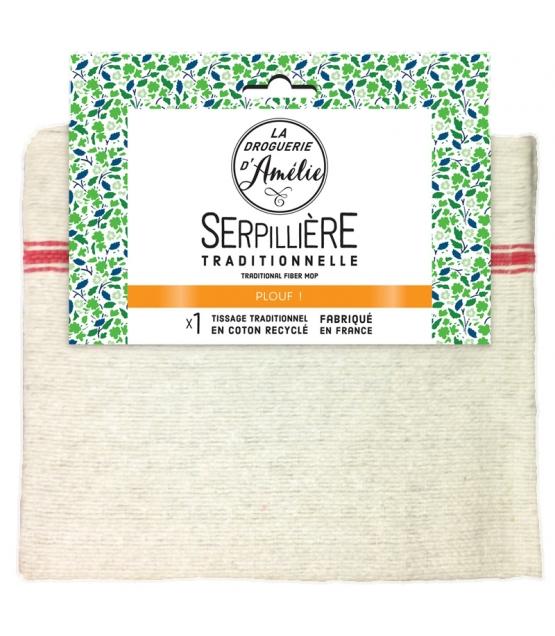 Serpillière en fibres recyclées - 1 pièce - La droguerie d'Amélie