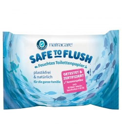Feuchtes BIO-Toilettenpapier Aloe Vera & Zaubernuss - 30 Stück - Natracare