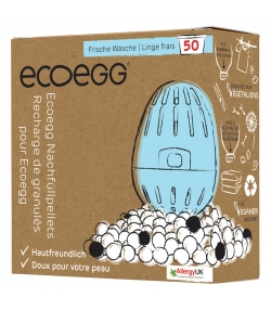 Recharge de granulés pour l'oeuf de lessive écologique linge frais - 50 lavages - 1 pièce - EcoEgg