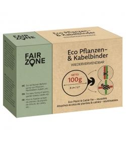 Attaches écolos de plantes et de cables en caoutchouc naturel - 100g - Fair Zone
