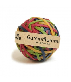 Balle d'élastiques en caoutchouc naturel - 180 pièces - Fair Zone