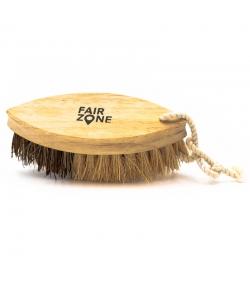 Brosse à légumes en bois & fibres de coco - 1 pièce - Fair Zone