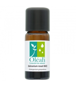 Huile essentielle BIO Géranium rosat - 10ml - Oléah