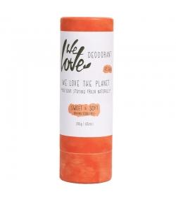 Déodorant stick Sweet & Soft naturel feuilles vertes, amande & pivoine blanche - 65g - We Love The Planet