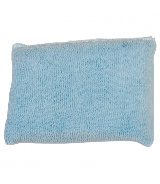 Blauer Universalschwamm aus Mikrofasern - 1 Stück - La droguerie écologique