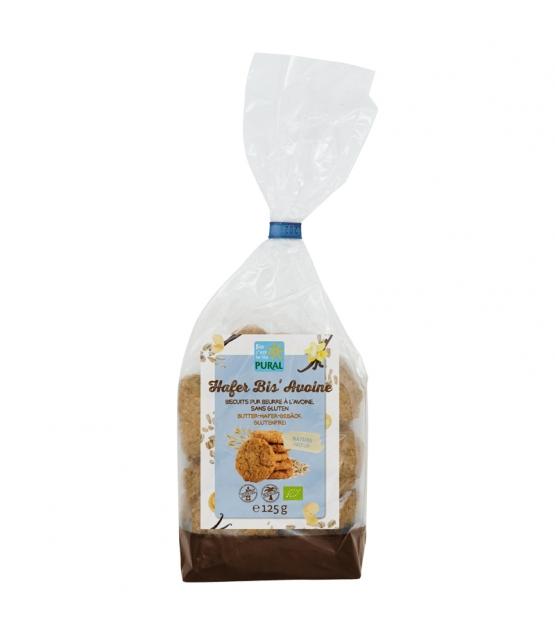 BIO-Butter-Hafer-Gebäck Natur - 125g - Pural
