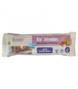 Barre aux amandes allégée en sucre BIO - 35g - Pural