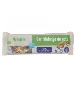 Barre au mélange de noix allégée en sucre BIO - 35g - Pural