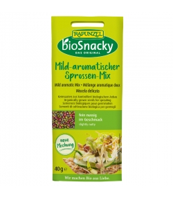 Mild-aromatische BIO-Saatenmischungen - 40g - Rapunzel bioSnacky
