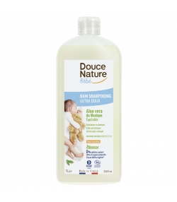 Bain shampooing bébé BIO aloe vera - 1l - Douce Nature