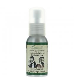 Baume après-rasage & huile pour la barbe naturel Casanova jojoba & macadamia - 50ml - Bionessens