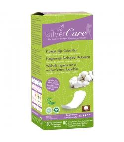 Protège-slips anatomique BIO - 30 pièces - Silvercare