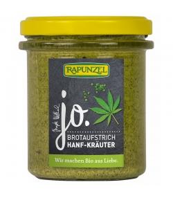 Pâte à tartiner aux herbes de chanvre BIO - 140g - Rapunzel