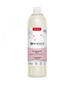 Eau micellaire éclat BIO rose, acide hyaluronique & vitamine C - 500ml - Centifolia Éclat de rose