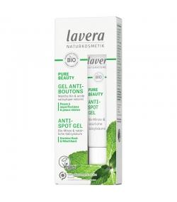 Gel anti-boutons BIO menthe & acide salicylique - 15ml - Lavera Pure Beauty