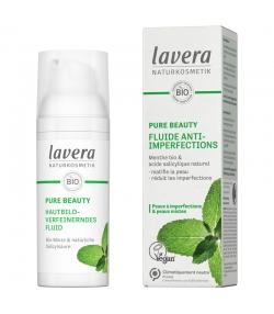 Fluide anti-imperfections BIO menthe & acide salicylique - 50ml - Lavera Pure Beauty