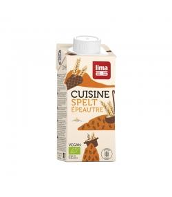 Crème d'épeautre de cuisine BIO - Spelt - 200ml - Lima