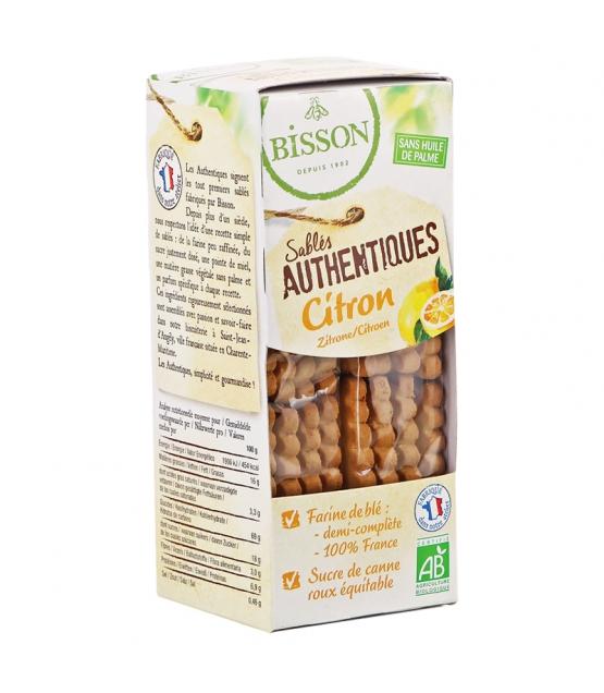 Sablés authentiques au citron BIO - 180g - Bisson