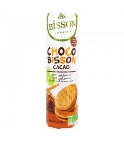 Biscuits fourrés ronds épeautre & cacao BIO - 300g - Bisson