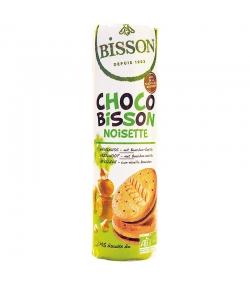 Biscuits fourrés ronds noisette & vanille Bourbon BIO - 300g - Bisson