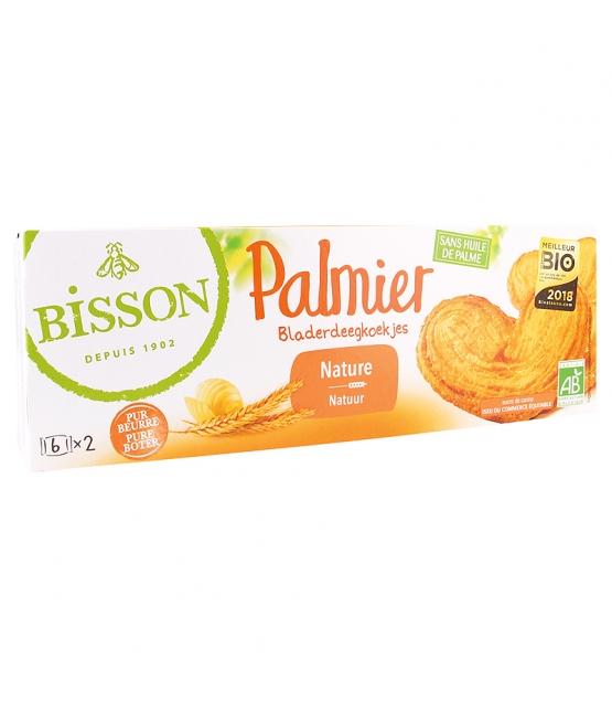 "Biscuits pur beurre nature ""Palmier"" BIO - 100g - Bisson"
