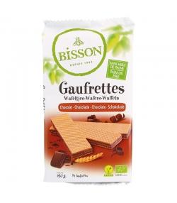 Gaufrettes au chocolat BIO - 190g - Bisson